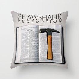 the shawshank redemption Throw Pillow