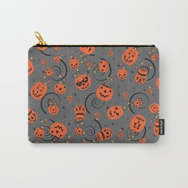 Halloween Magic- Grey Carry-All Pouch