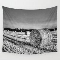 farm Wall Tapestries featuring The Farm by David Pyatt