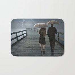 Weathering the Storm Together Bath Mat