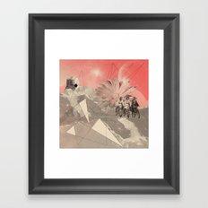 Les Femmes Framed Art Print