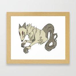 Big Bad Fox Framed Art Print