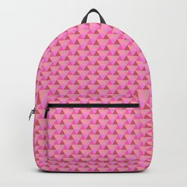 Summer Geometric Pattern in Pink Backpack