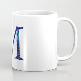 """Initial letter """"M"""" Coffee Mug"""