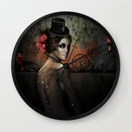 Dawn in Autumn Wall Clock