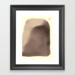 In the Stone Age no one cared about you Framed Art Print