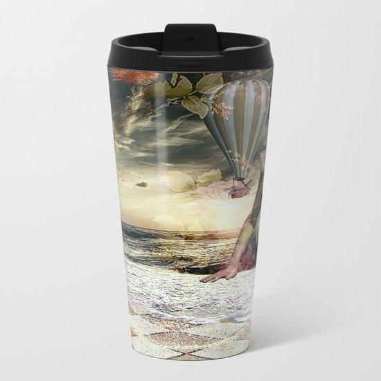 Skyfall in the Garden of Eden Metal Travel Mug