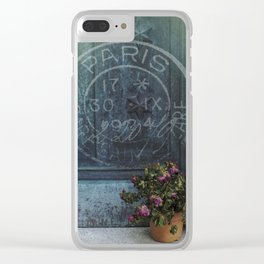 Not Forgotten Clear iPhone Case