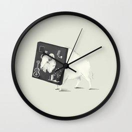 Not Amused Wall Clock