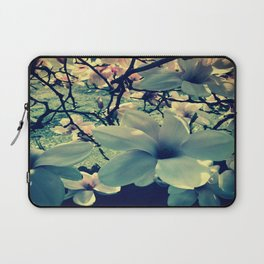 Magnolias flowering Laptop Sleeve