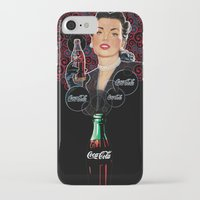 coca cola iPhone & iPod Cases featuring COCA-COLA by Bianca Lopomo