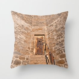 If These Prison Walls Could Talk Throw Pillow