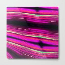 Electric Pink Metal Print