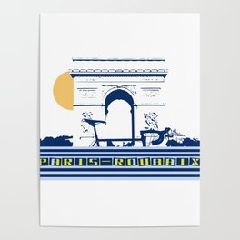 Paris - Roubaix Poster