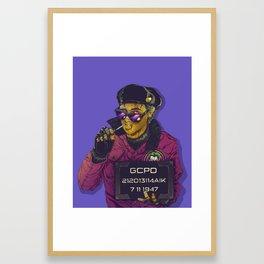 Joker Goon Framed Art Print