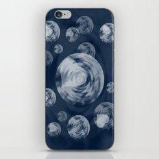 RAINING MIDNIGHT HEARTS  iPhone & iPod Skin