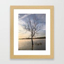 Sunrise Solitude Framed Art Print