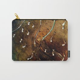 Brass pattern Carry-All Pouch