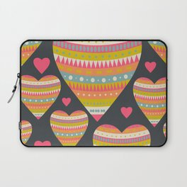 Floral Romantic Pattern 03 Laptop Sleeve