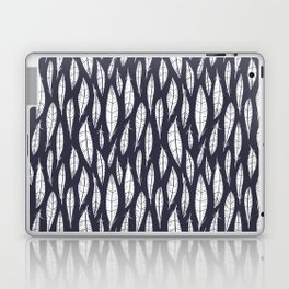 Quail Feathers (Midnight) Laptop & iPad Skin