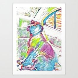 Gambino The Pretty Pitty Art Print
