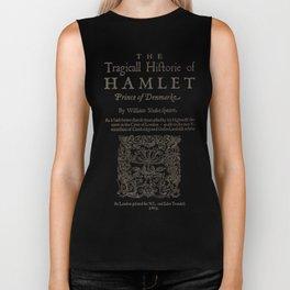Shakespeare, Hamlet 1603 Biker Tank