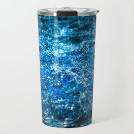 Water Color - Blue Travel Mug