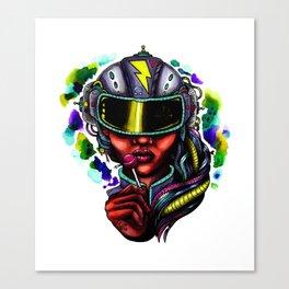 Lickit Canvas Print