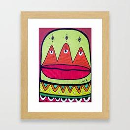 minor fuss Framed Art Print