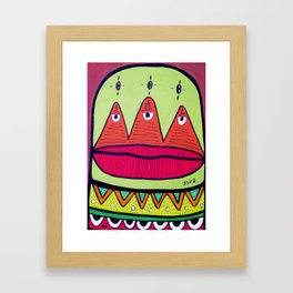 minor fuss Framed Art Print