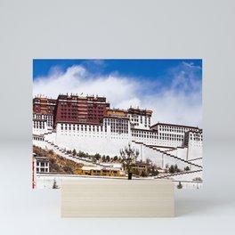 Tibet: Potala palace in Lhasa Mini Art Print