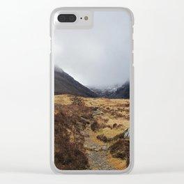 Black Cuillin Clear iPhone Case