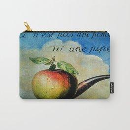 Ceci n'est pas une pomme ni une pipe Carry-All Pouch