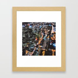 Throwback TO CN Tower Views 2006 (Square) Framed Art Print