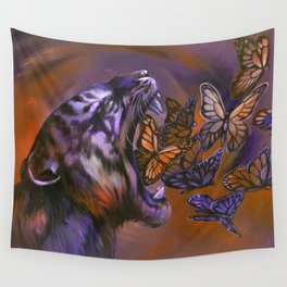 Gentle Roar Wall Tapestry