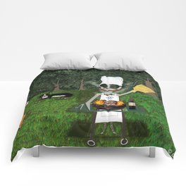 Corky the Grillman Comforters