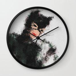 Selina the Cat Wall Clock
