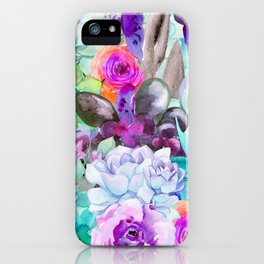 spring pastels iPhone Case