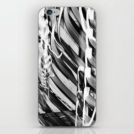 Light Dance Dark Stripes iPhone Skin