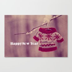 Happy New Year preparation;) Canvas Print