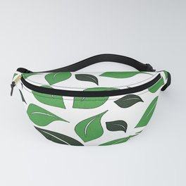 different sized leaves, plants, nature, nature friend Fanny Pack