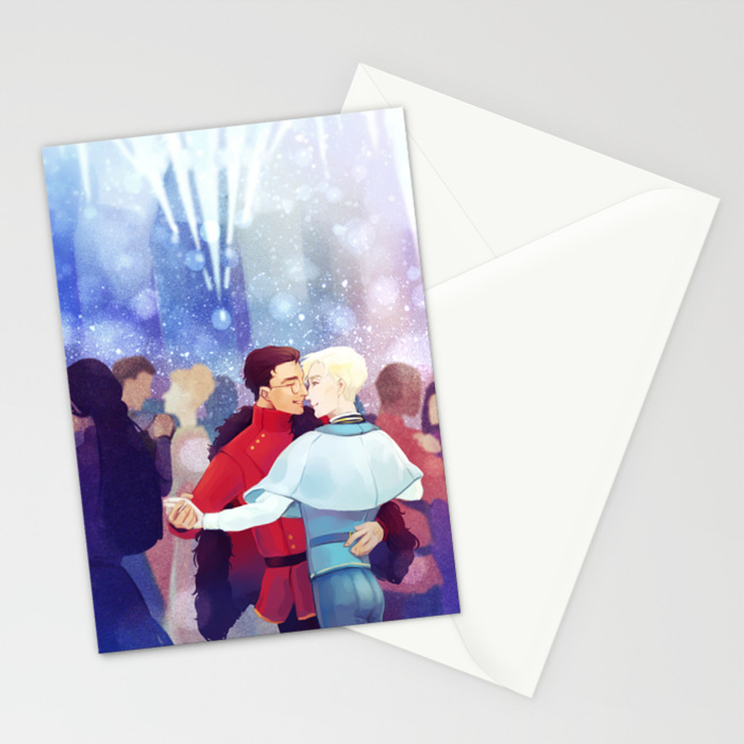 Durmstrang And Beauxbaton Dance Stationery Cards By Convallarias Society6 648 x 471 jpeg 116 кб. durmstrang and beauxbaton dance stationery cards by convallarias