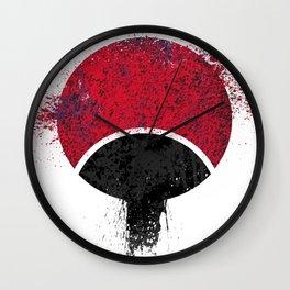 Naruto - Uchiha Logo Wall Clock