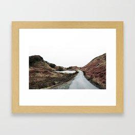 Road through Fairy Glen Framed Art Print