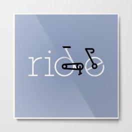 ride 16 Metal Print