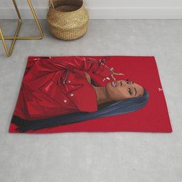 megan thee stallion Rug