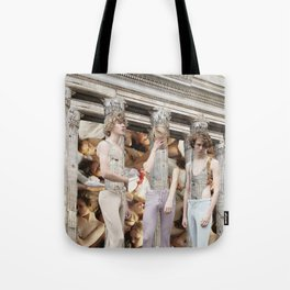 Building Parallels Tote Bag