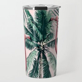Flamingo tropics Travel Mug