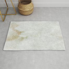 stained fantasy white marble Rug