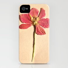 Two Flowers iPhone (4, 4s) Slim Case